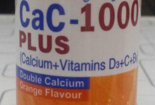 Cac 1000 Plus Tablet is used for Deficiency of calcium In Urdu In Pakistan