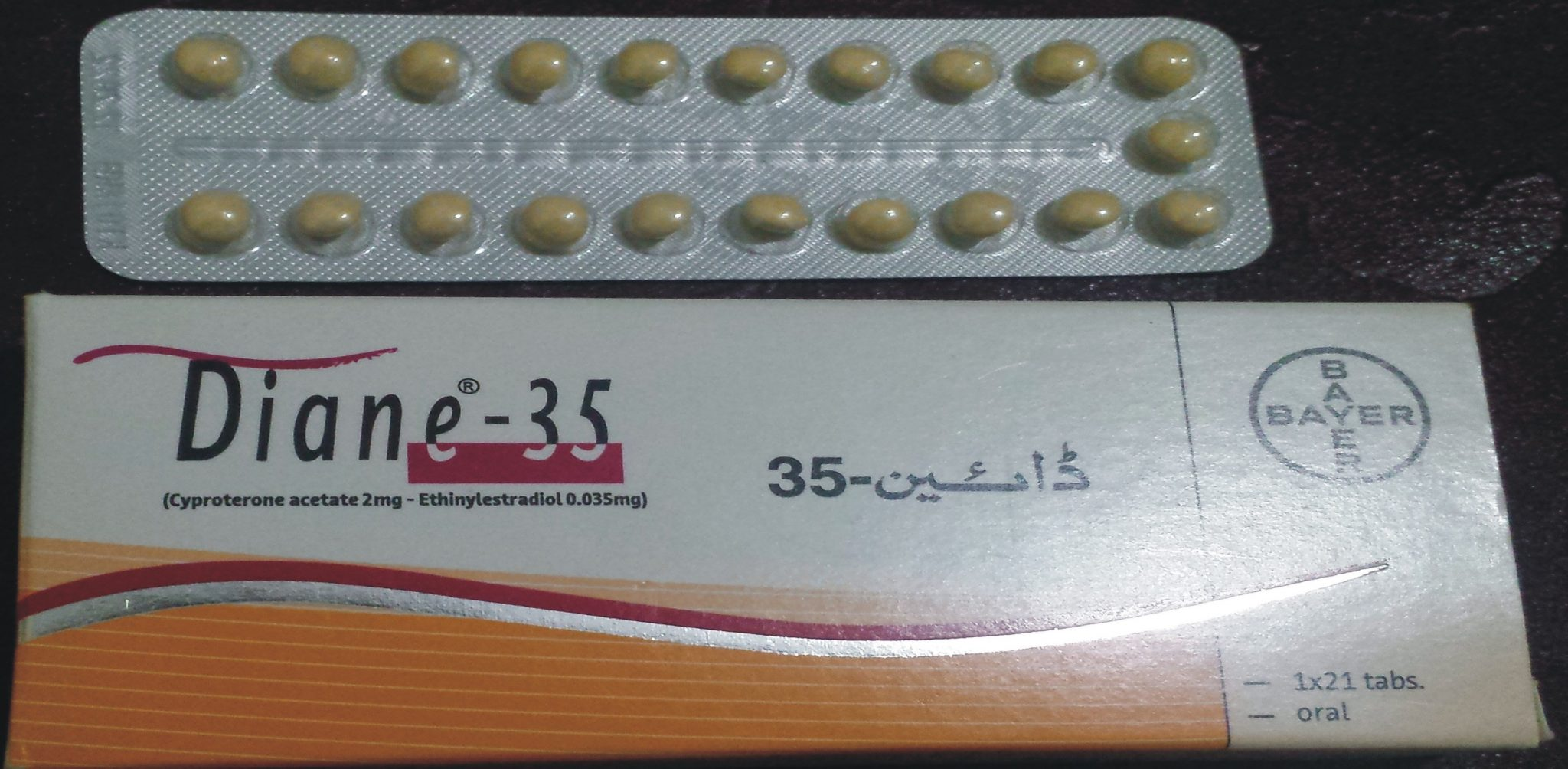 Diane 35 Tablet Is used To Best Oral Contraceptive | Acne