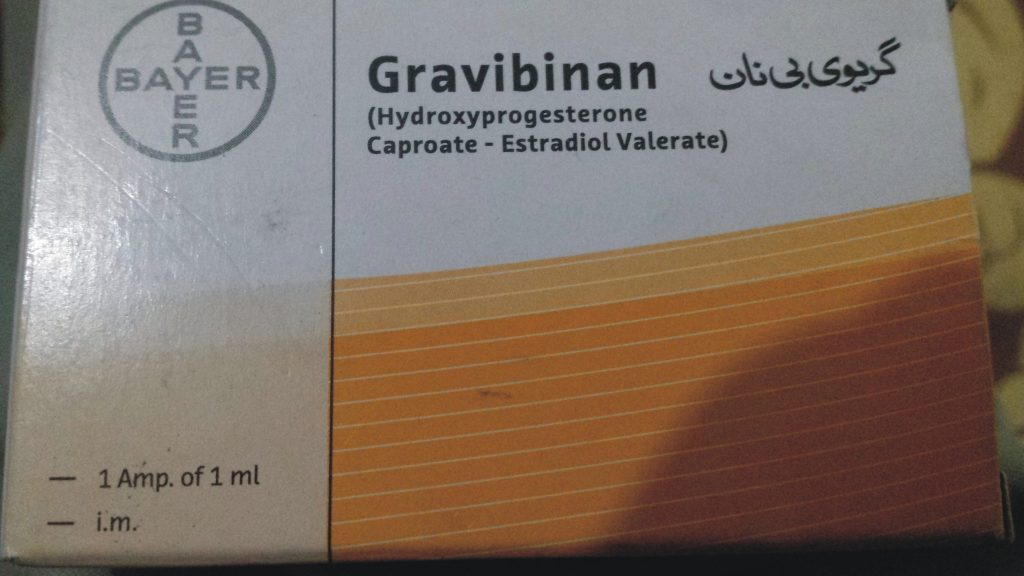 Gravibinan 2ml Injection