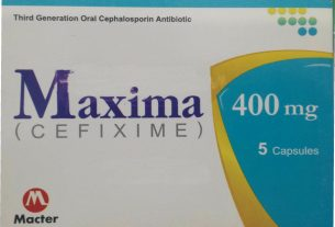 MAXIMA Tablet(CEFIXIME) Oral Uses , Side effects, Dose , Contraindication In Urdu