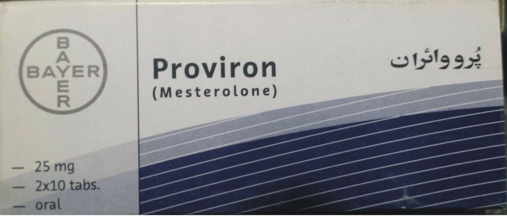 Proviron tablet