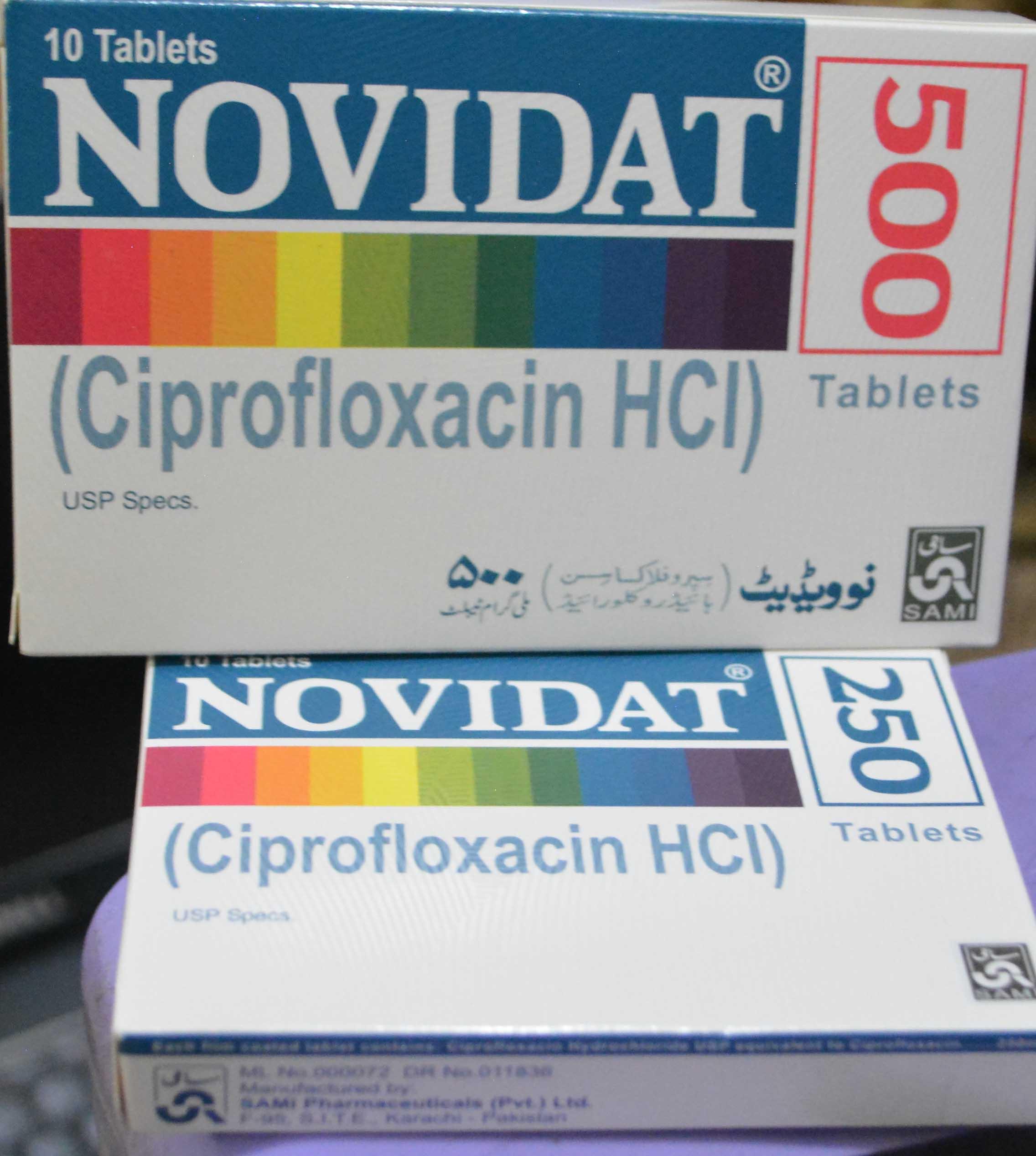 Novidat Tablets Ciprofloxacin Oral Uses side effects In Urdu