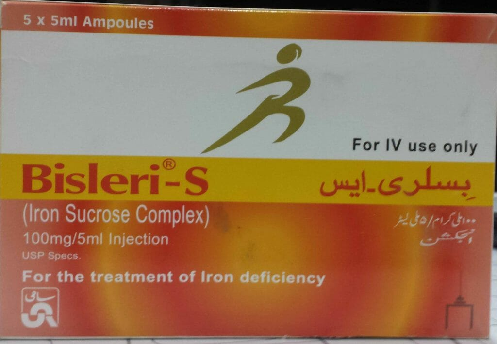 Iron Sucrose Injection Side effects