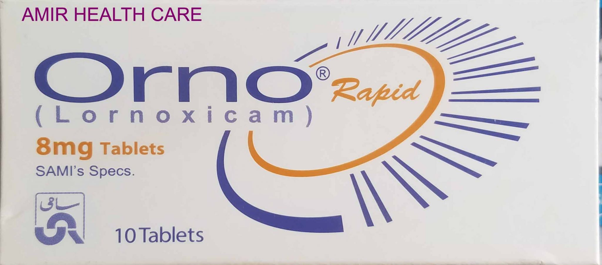 Orno Rapid Tab 8mg 10's Best Uses || Side effects || Dose