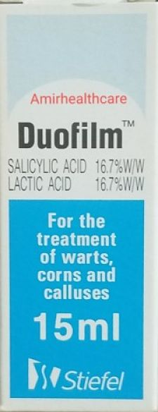 Duofilm topical solution 15ml Uses Dose Precaution Stiefel pharma.Duofilm solution where to buy In Pakistan