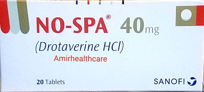No-Spa Tablets 40mg 20's Uses Side Effects Dose Price In Pakistan